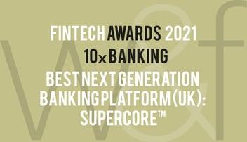 10x Wins Best Next-Generation Banking Platform in the Fintech Awards 2021