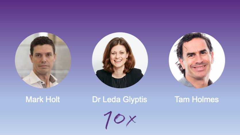 Leda Glyptis and Mark Holt join 10x