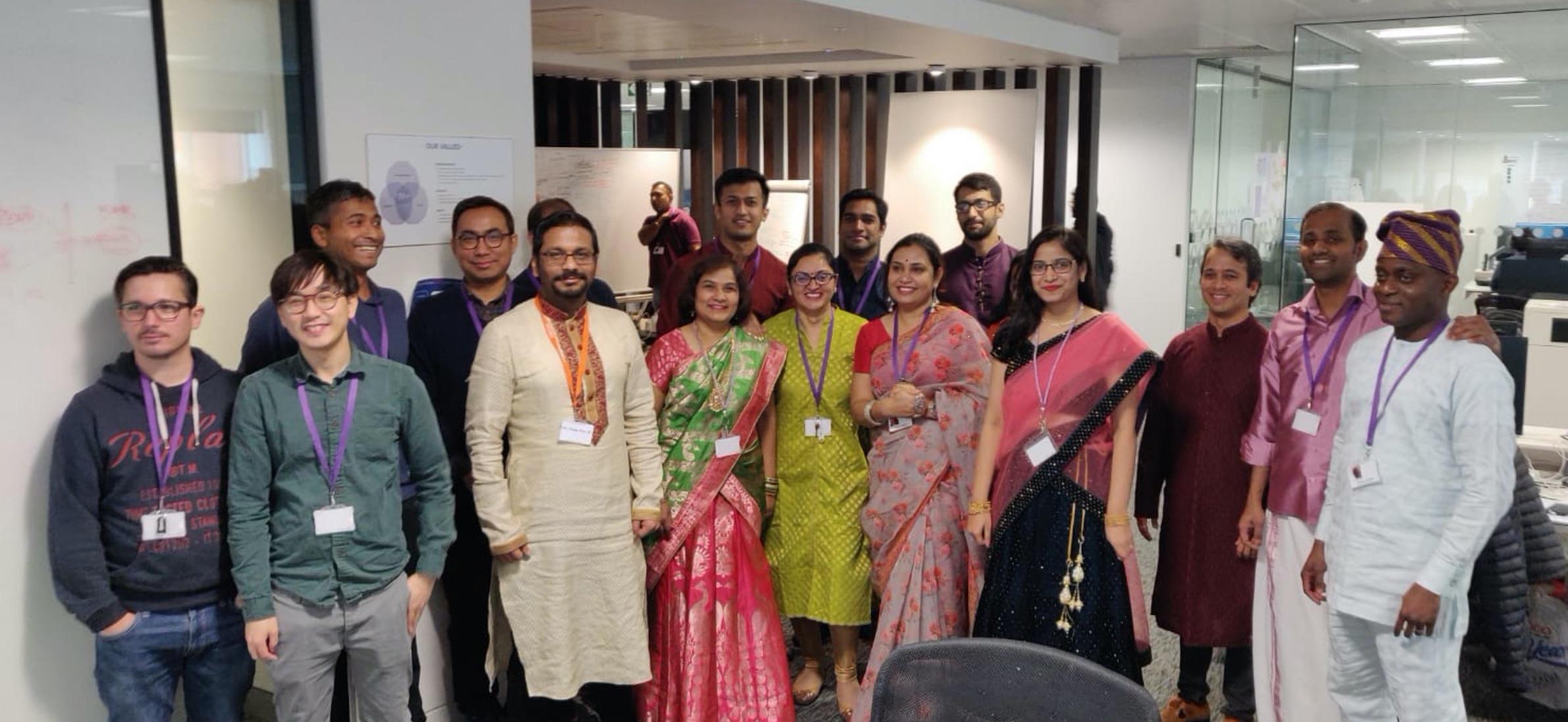 Celebrating Diwali 2019