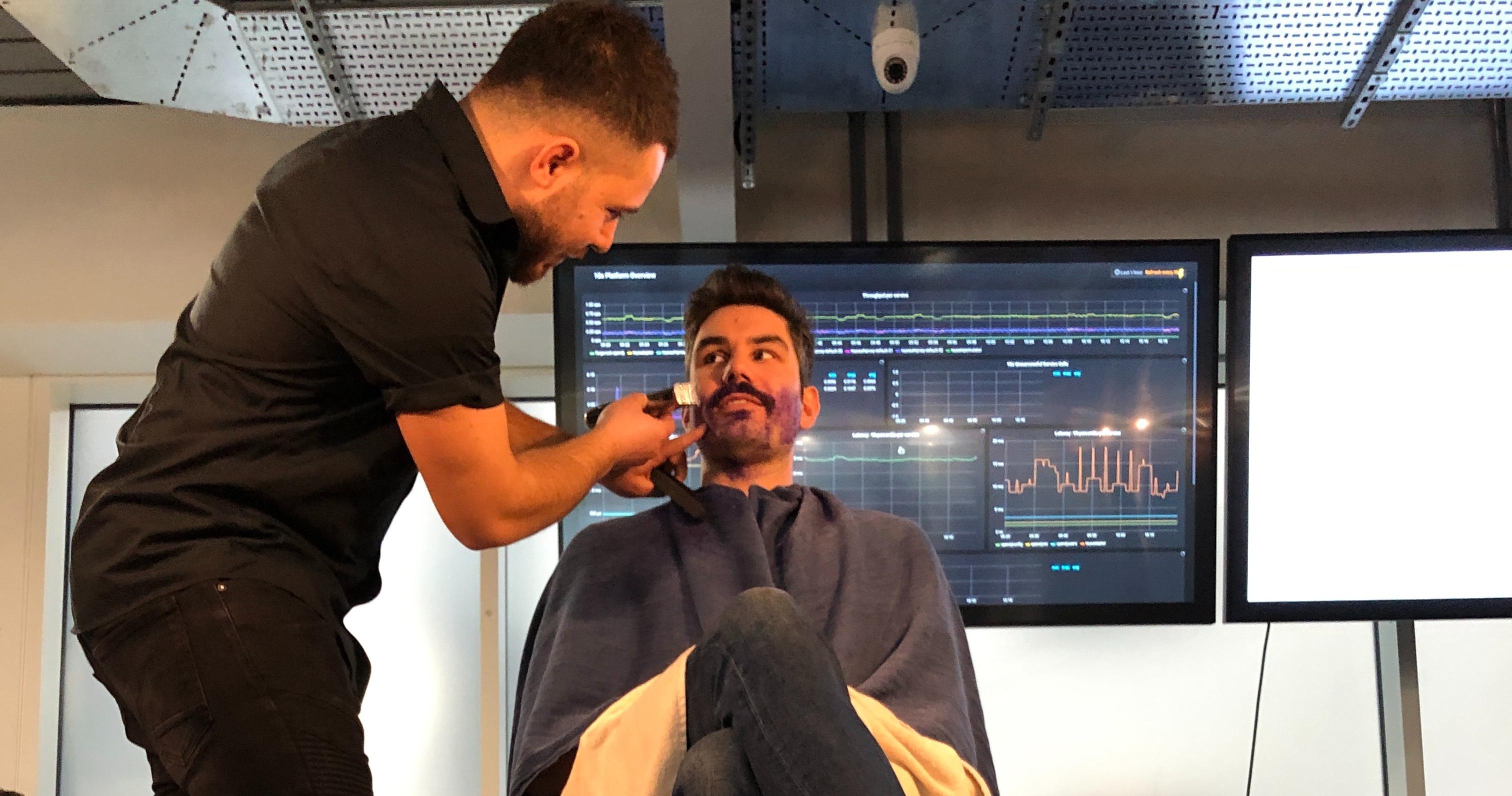 Movemeber - shave off